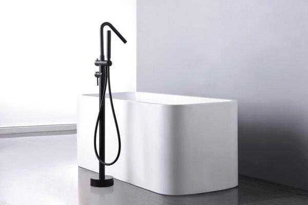 grifo ducha serie Córcega negro ambiente