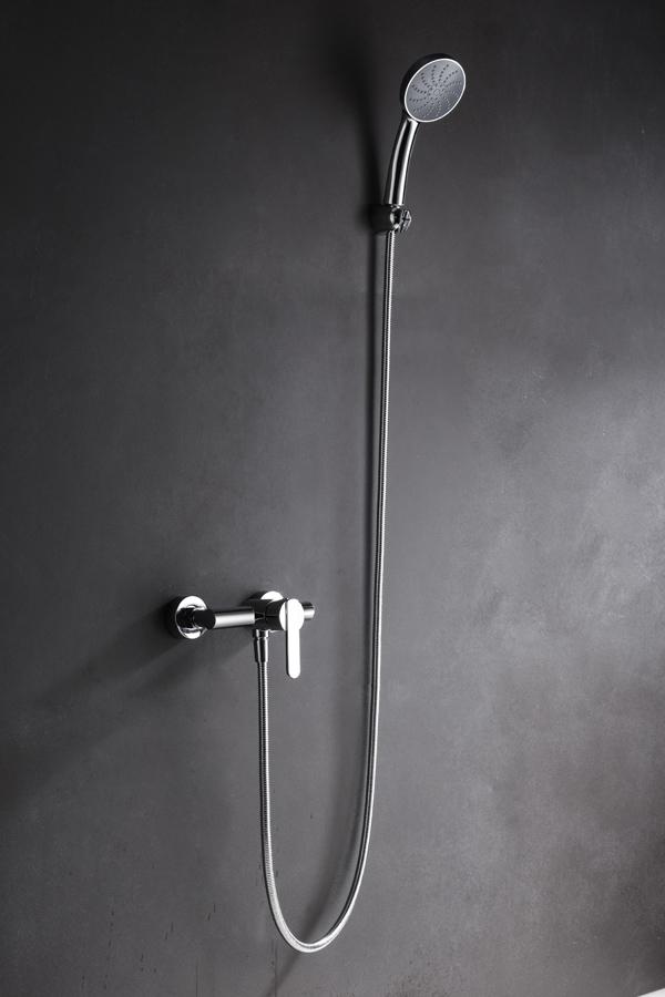 Barra de ducha serie Roma cromado