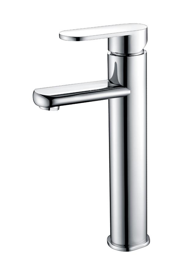 Grifo lavabo alto serie Sintra cromado