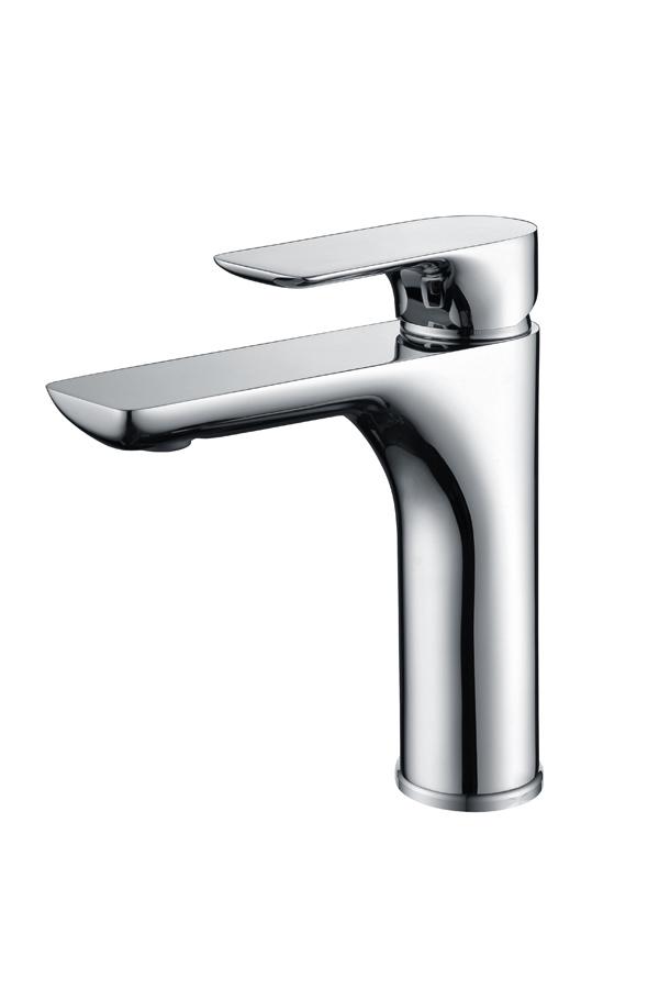 Grifo lavabo serie Nassau cromado