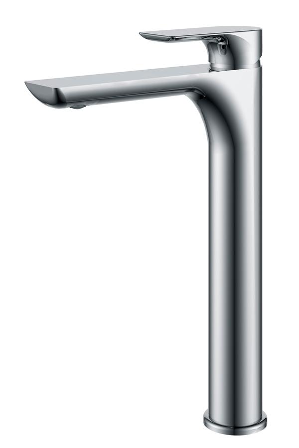 Grifo alto lavabo serie Nassau cromado