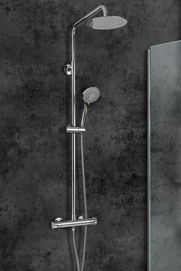 Barra de ducha termostática serie Bled