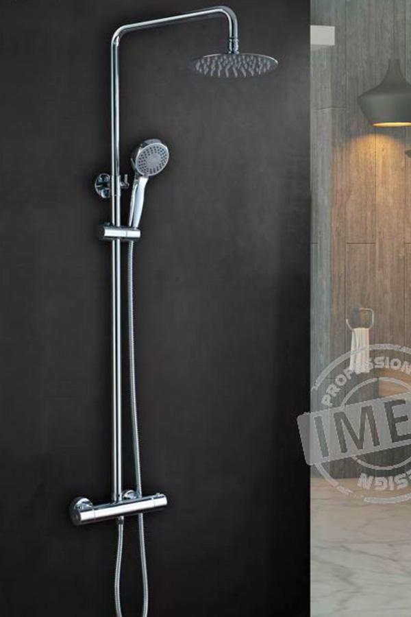 barra de ducha termostática serie kent ambiente