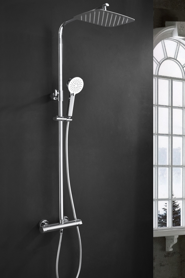 Barra de ducha termostática serie Praga