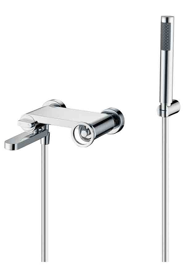chrome olympus shower faucet