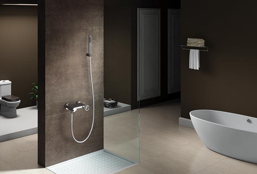 grifo ducha serie olimpo cromado ambiente