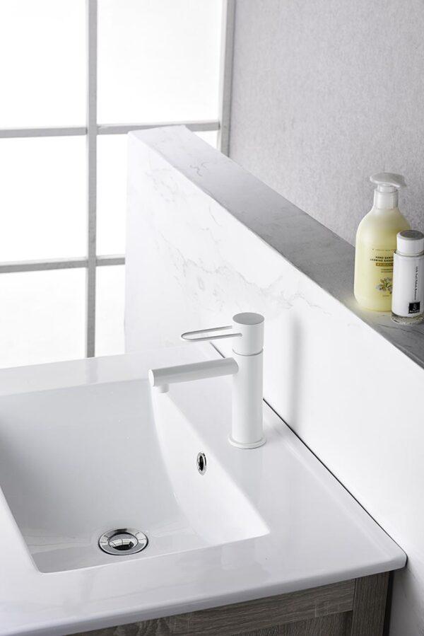 grifo lavabo serie milos ambiente