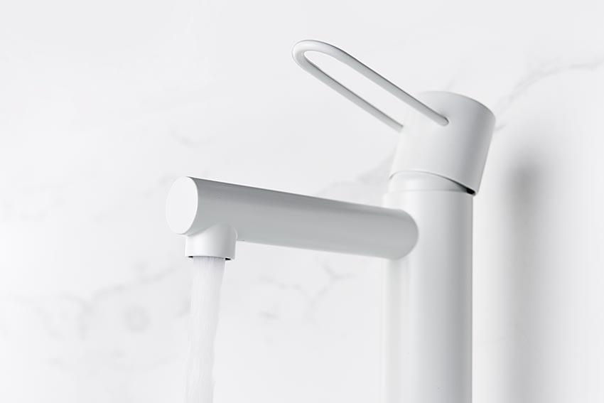 grifo lavabo serie milos detalle