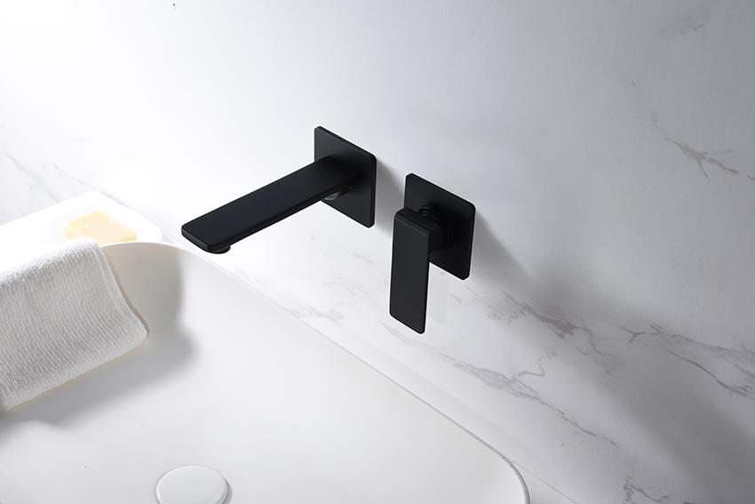 grifo lavabo serie fiyi negro