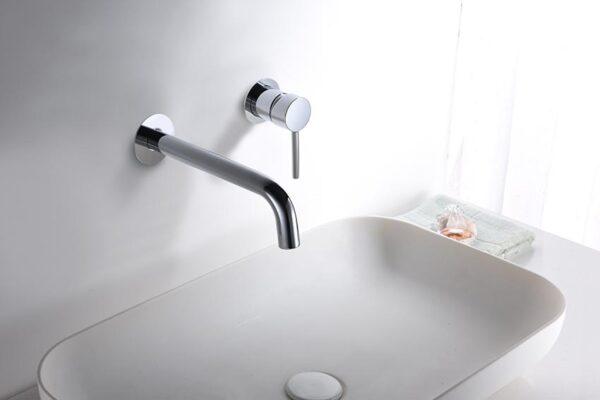 grifo lavabo serie etna cromado ambiente