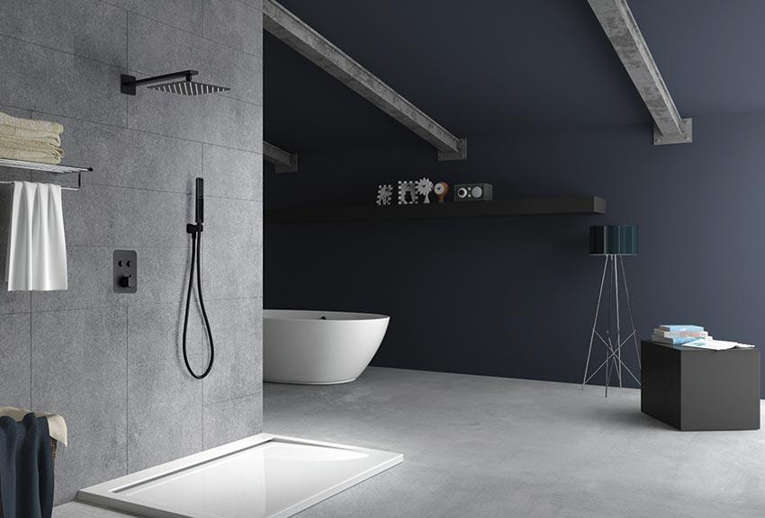 ducha empotrada serie portugal ambiente