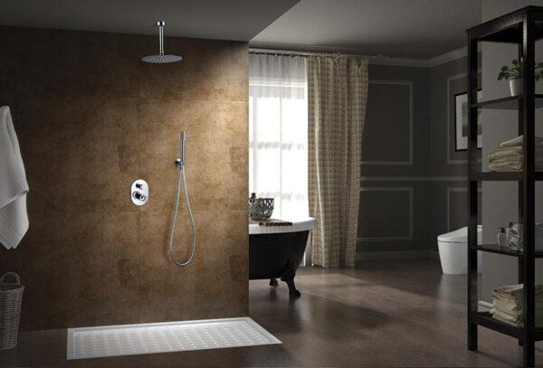 ducha empotrada serie vesubio ambiente